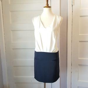 H&M Colorblock Sleeveless Dress, Size 4